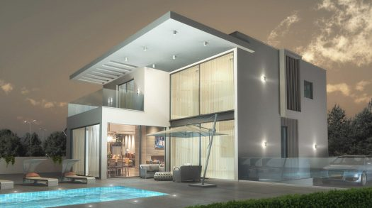 אדריכלות בית דו קומתי במרכז