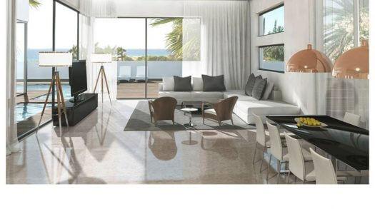 עיצוב פנים בית במושב מול הים