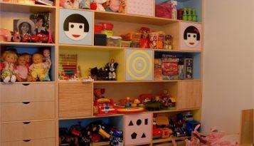 עיצוב בית יוקרתי בשוהם חדר ילדים