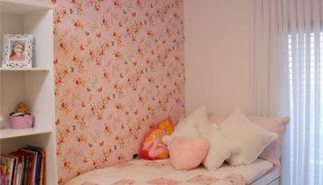 עיצוב בית יוקרתי בשוהם חדר לילדה