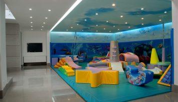 עיצוב בית מפואר בבית בשוהם חדר משחקים לילדים