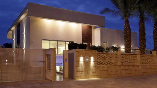אדריכלות ועיצוב לוילה באשקלון