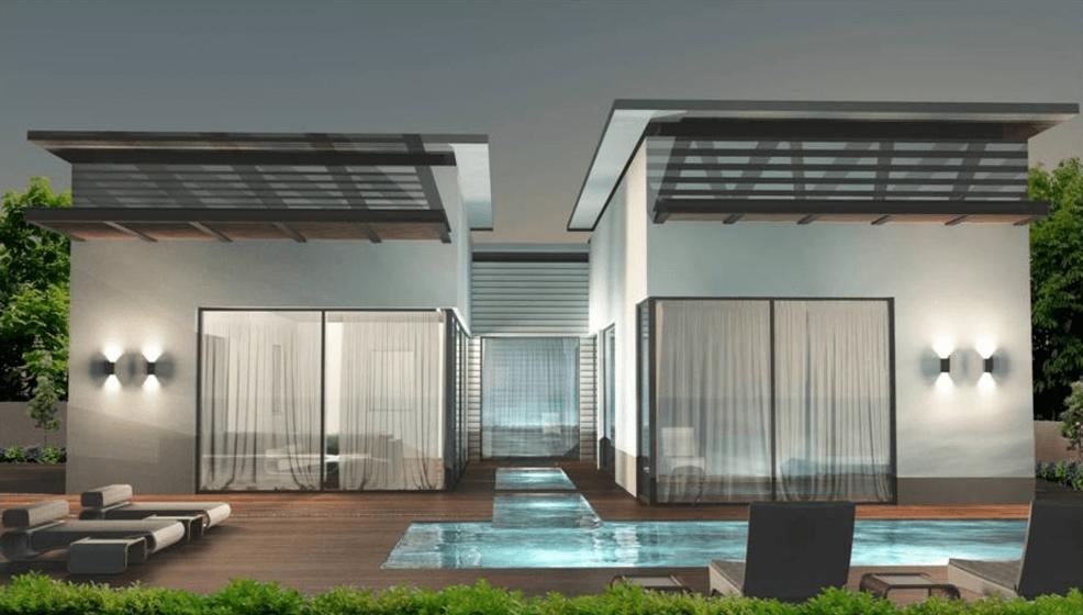 קינן אדריכלים עבודת אדריכלות של בית פרטי במרכז מול הים