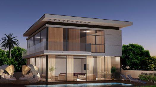 בית שתוכנן בתכנון אדריכלי