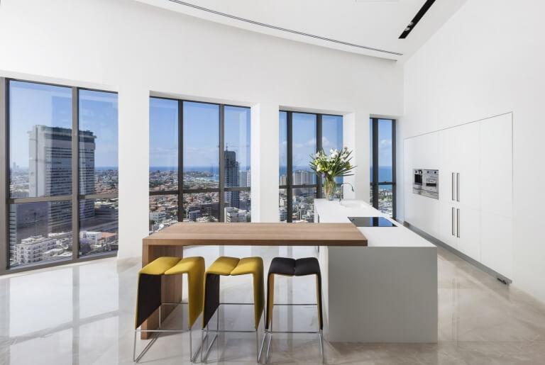 עיצוב דירה עם מטבח מעוצב