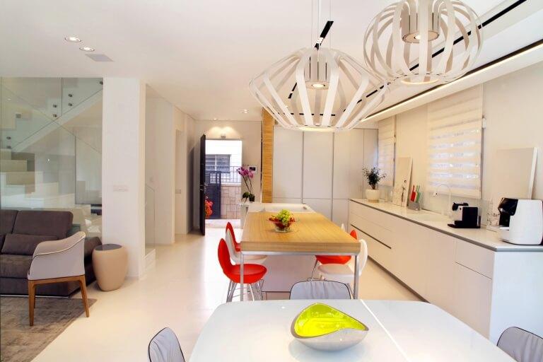 עיצוב מטבח כחלק מעיצוב דירות יוקרתיות