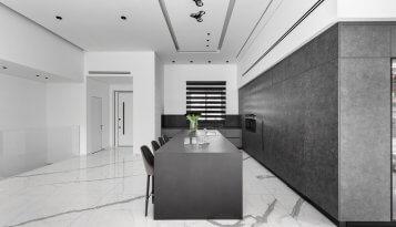 אי מעוצב למטבח הבית קינן אדריכלות
