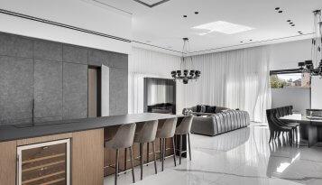 חדר אוכל מעוצב על ידי קינן אדריכלות ועיצוב פנים