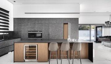 מטבח בסגנון ייחודי קינן אדריכלות