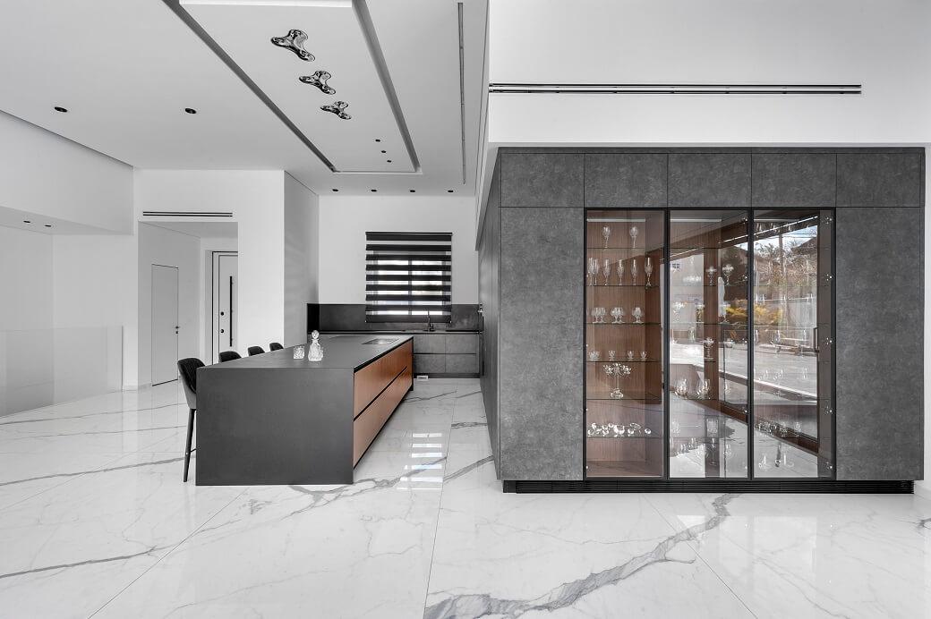 עיצוב בסגנון אפור קינן אדריכלים