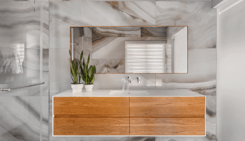 עיצוב פנים מושלם לחדר אמבטיה