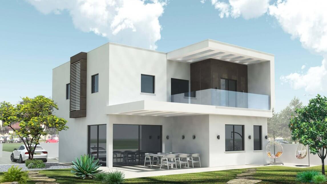 אדריכלות בקריית עקרון