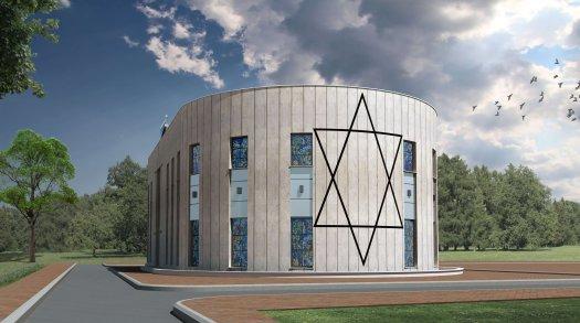אדריכלות - בית כנסת באשקלון